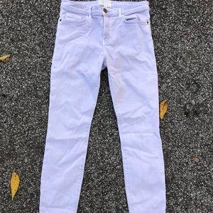 Current Elliott 30 The Stiletto Dusty Iris Jeans